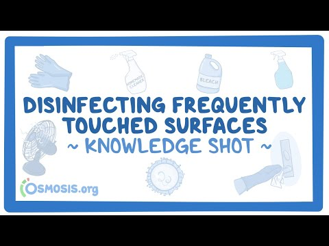Disinfecting Frequently Touched Surfaces ~clinical skills~