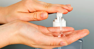 Using Hand Sanitizer Correctly
